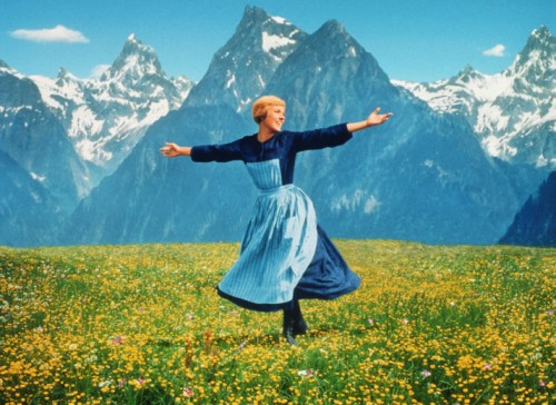 Julie's dancing in the hills