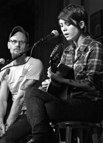 Tegan and Augusten live in NYC