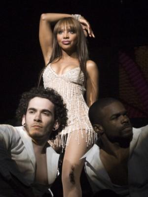 Toni in her Vegas show