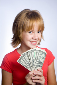 Girl with Allowance