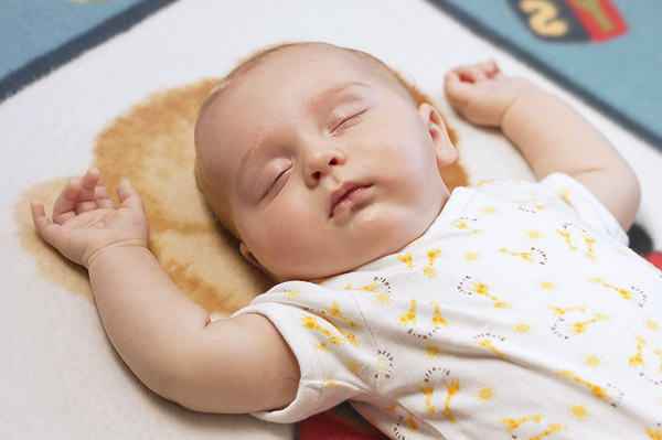 Get baby into a sleep routine