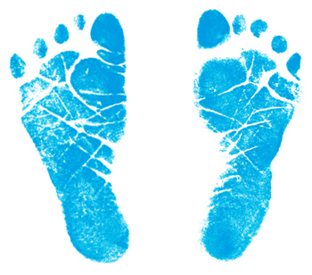 Baby Footprint Clipart http://www.sheknows.com/parenting/articles/805950/how-to-get-a-clean-stamp-of-your-babys-footprint