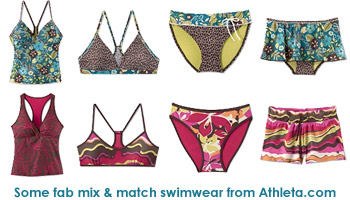 Bikinis and tankinis from Athleta.com
