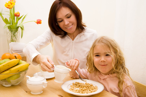 Importance of morning meals