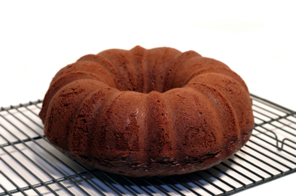 Chocolate pumpkin spice cake