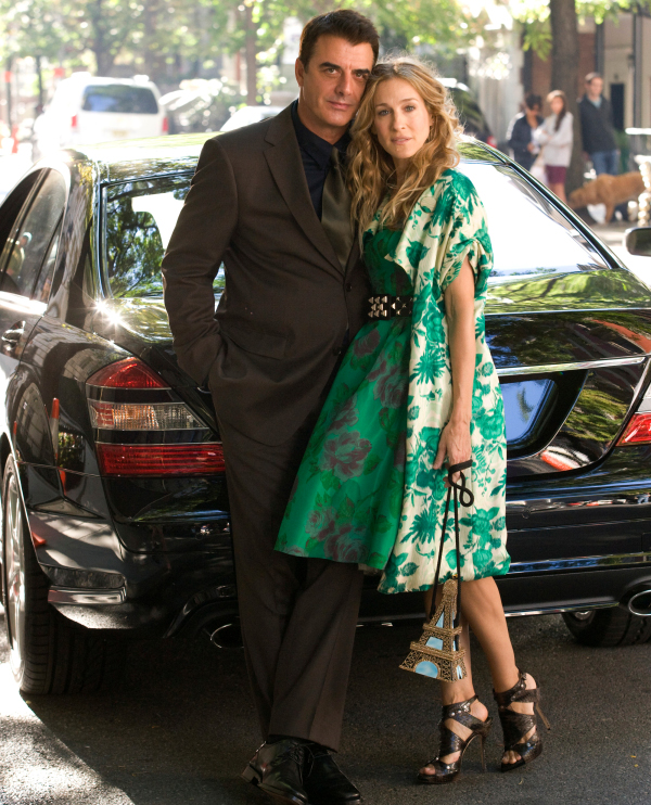Carrie Bradshaw and Mr. Big - Sex and the City