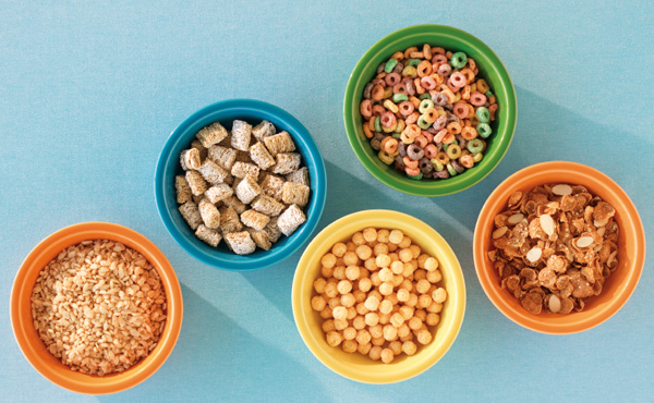 Variety of Cereal