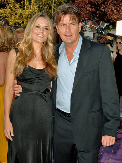 Charlie Sheen couple