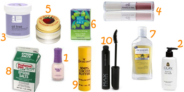 Cheap beauty products