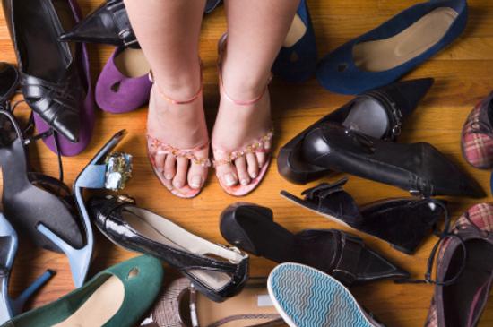 Choosing shoes