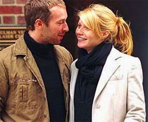 Chris Martin -- the father of Apple and Moses with actress wife Gwyneth Paltrow