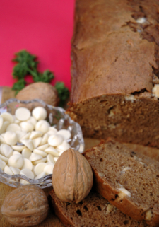 Yummy quickbread (and healthy, too)