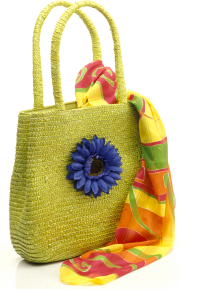 Colorful tote bag