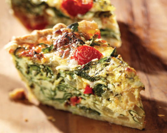 Quiche Lorraine Recipe : : Recipes : Food Network