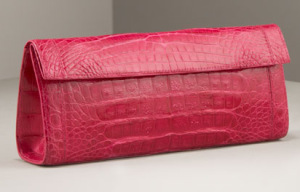 Nancy Gonzales croc clutch