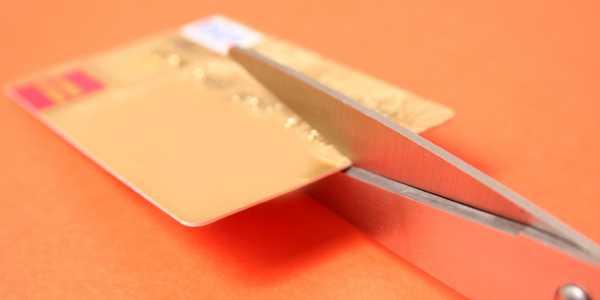 Cutting Up Credit Card