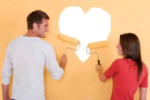 Couple Decorating