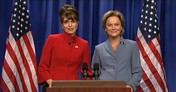 Live from SNL: Palin & Clinton