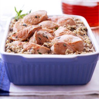 Tarragon Turkey and Rice