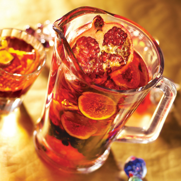 Entertaining tips and sweet sangria