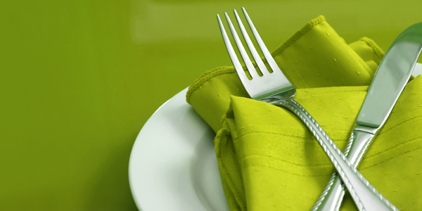 Green Place-setting