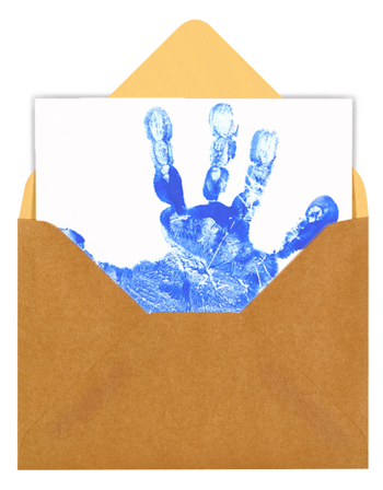 Handprint Invitation