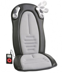 iCush Music Sync Programmable Massage Seat Cushion
