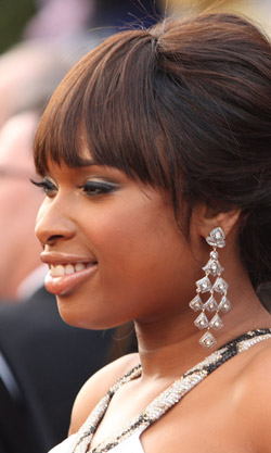 Jennifer Hudson with lush lashes