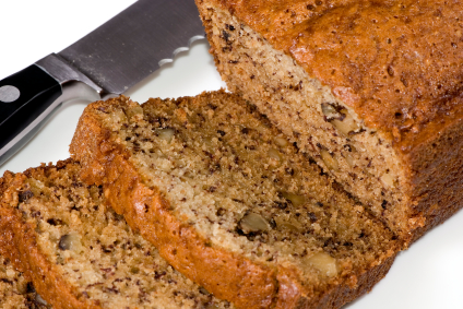 Banana nut bread on a low GI diet