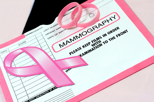 Mammogram X-Ray