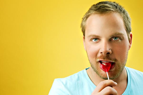 Man with Lollipop