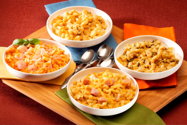 Tasty mixed up mac and cheese