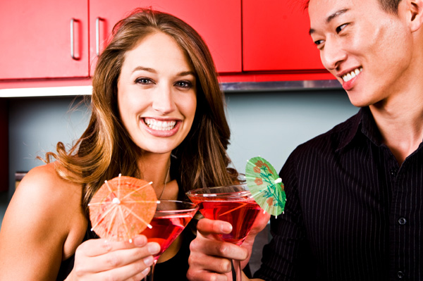 Couple with Mocktails