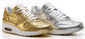 Nike Air Max 1 - Olympic perforated metal pack