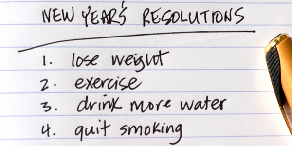 Resolve to be healthy