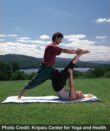 Outdoor Partner Pose