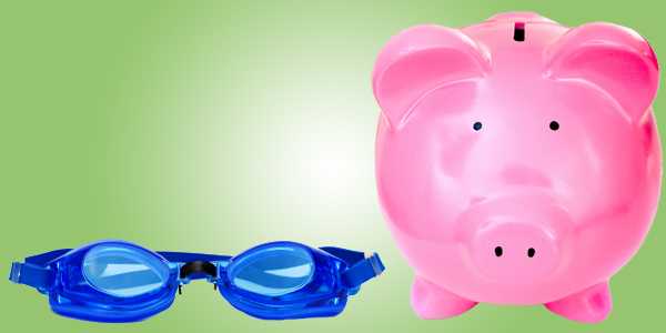 Piggy Bank and Goggles