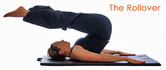 Pilates exercise - the Rollover