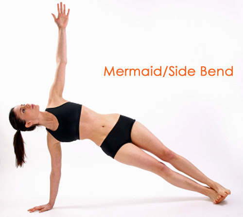 Mermaid/side bends