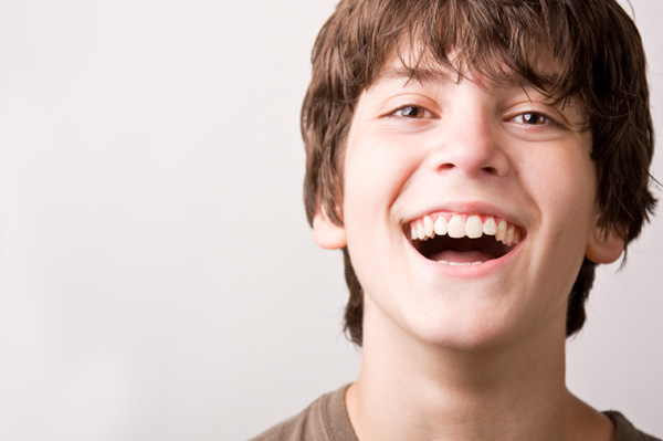 Teen Boy with Brown Hair