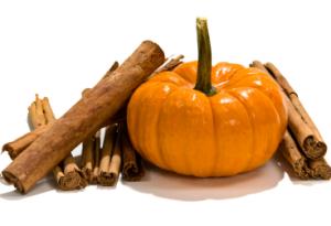 Pumpkin and cinnamon