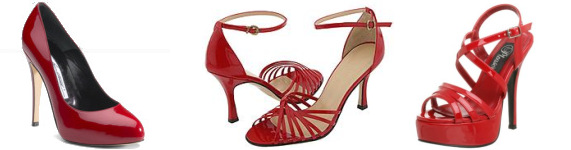 Red Shoes - Kellie Pickler Red High Heels