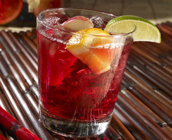 Sake sangria