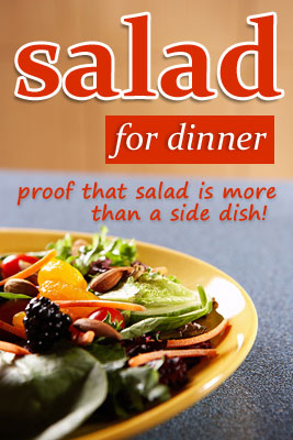 Salad for dinner - recipes