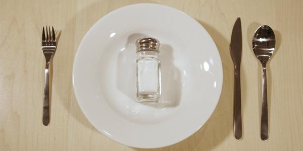 Salt on Plate