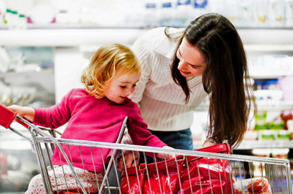 Shopping for bargains - parents
