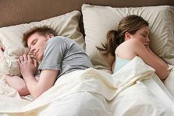 Snoring affects sleep
