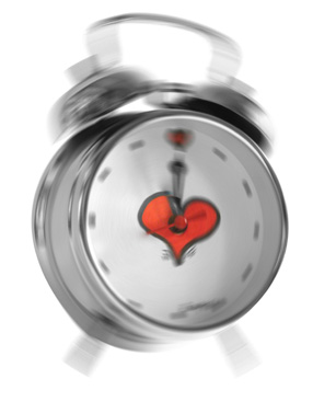 Alarm Clock with Heart