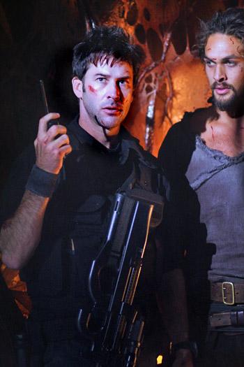 John Sheppard & Ronan Dex of Stargate Atlantis