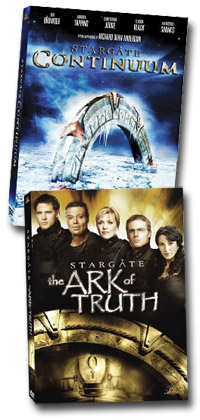 Stargate DVD movies